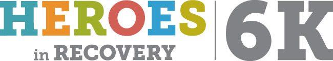 Heroes in Recovery 6K logo