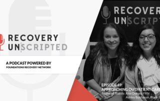 Recovery Unscripted Banner Dorsey