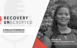 Recovery Unscripted Banner EboniWebb