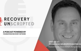 Recovery Unscripted Banner airhart