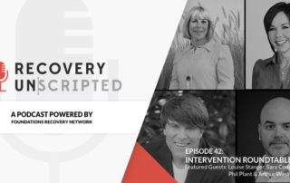 Recovery Unscripted Banner intervention