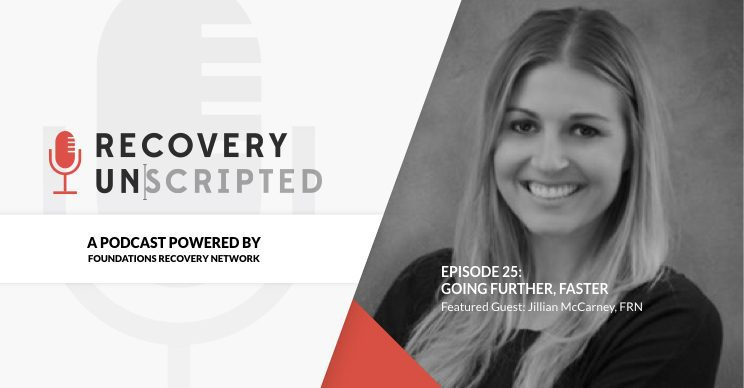 Recovery Unscripted Jillian McCarney