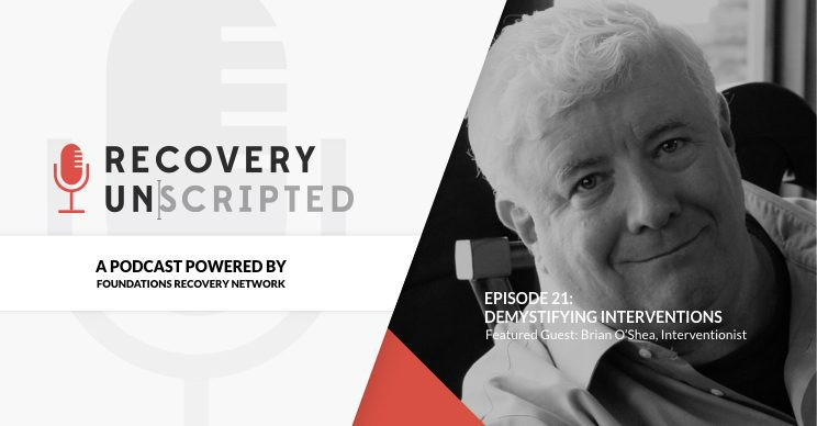 Recovery Unscripted - Brian O'Shea