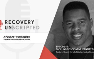 Recovery Unscripted Banner walker