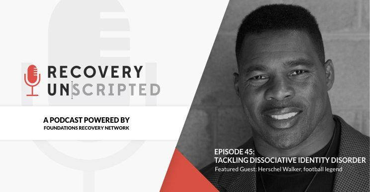 Recovery Unscripted Herschel Walker