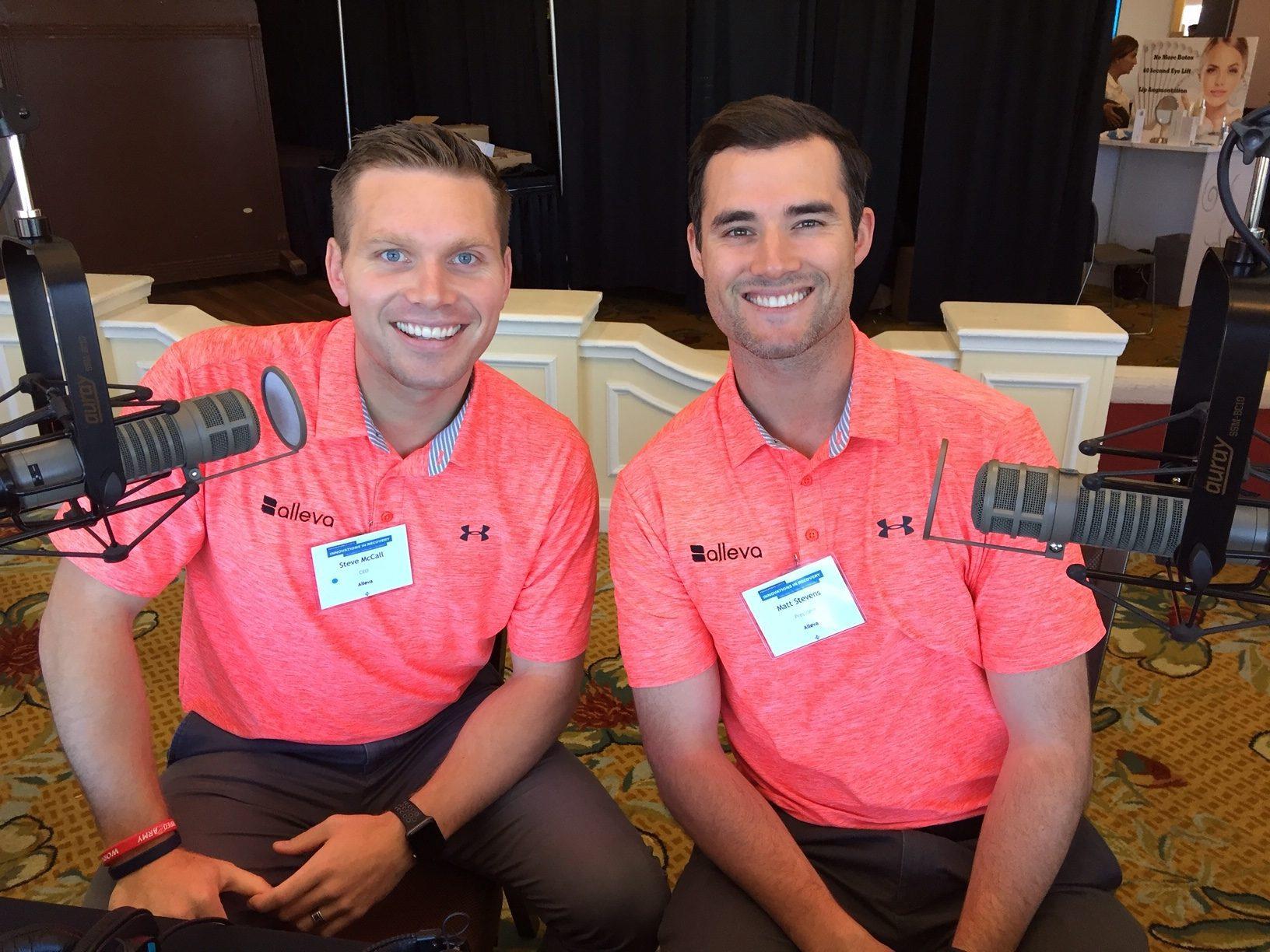 Steve McCall and Matt Stevens image