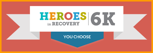Heroes in Recovery 6K Virtual and Traditional Races