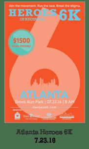 Heroes in Recovery 6K Race in Atlanta, GA