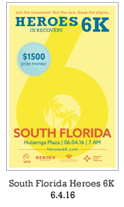 Heroes in Recovery 6K Race in Fort Lauderdale, FL