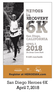 Heroes in Recovery 6K Race in San Diego, CA