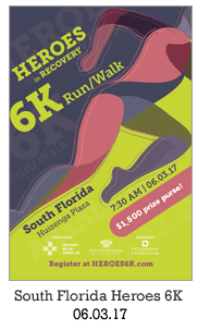 Heroes in Recovery 6K Race in South Florida