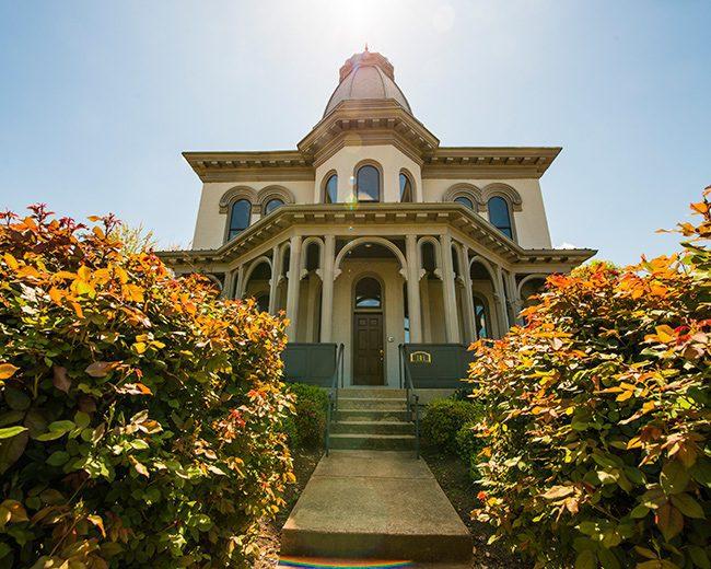 Historical Rose Hill building for Foundations Nashville