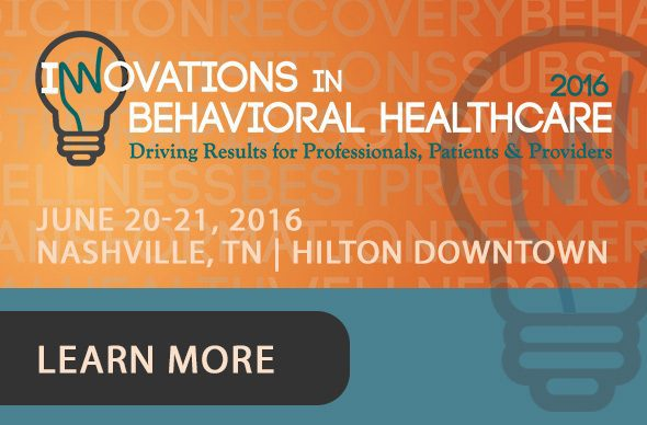 Innovations in Behavioral Health 2016