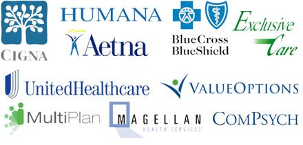 Accepted drug treatment insurance carriers to Foundations Recovery Network facilities