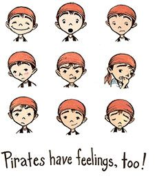Pirates have feelings, too!