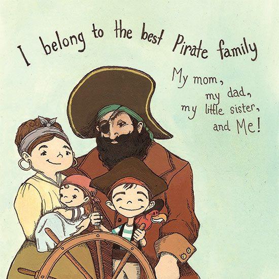 Pirates Have Feelings, Too! Illustration