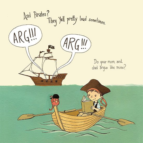 Pirates Have Feelings, Too! Illustration