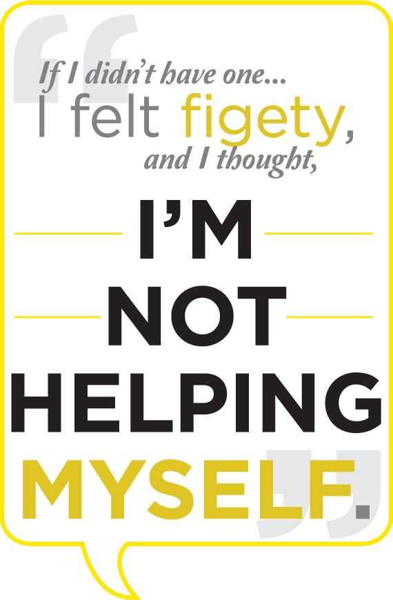 Prescription drug abuse and addiction quote style: I'm not helping myself