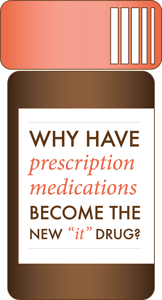 Why have prescription medications become the new 'it' drug?