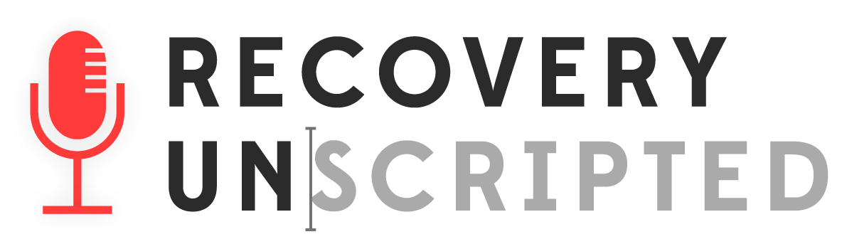 Recovery Unscripted Podcast logo