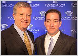 Rob Waggener and Glenn Greenwald