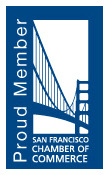 A proud member of the San Francisco Chamber of Commerce